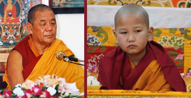 Lobsang Gyatso and Tsenyi Khentrul Rinpoche